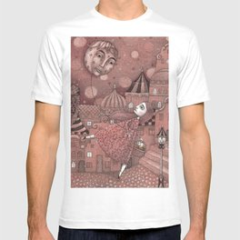 Strawberry Moon in June T-shirt