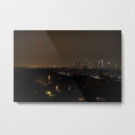 LA Night Metal Print