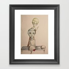 Forced Normality Framed Art Print