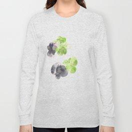 170714 Abstract Watercolour Play 14  Modern Watercolor Art   Abstract Watercolors Long Sleeve T-shirt