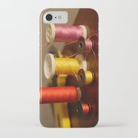 sewing iPhone & iPod Cases featuring Sewing notions by in my closet