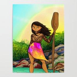 Embera girl Poster