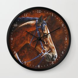 Hanoverian Warmblood Sport Horse Wall Clock