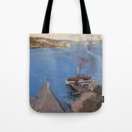 Arthur Streeton - From McMahon's Point (1890) Tote Bag