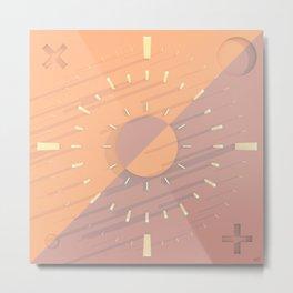 #Sun #Dialled - 20160920 Metal Print