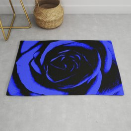 Blue Rose : Pretty Flowers Rug