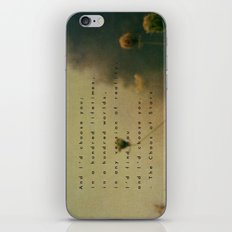 In Any World iPhone Skin