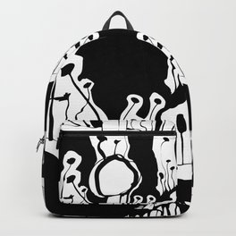 Graphic Mushroom Forest Backpack