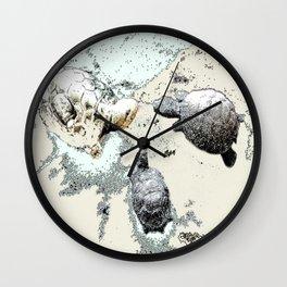 Turtle Caucus Wall Clock