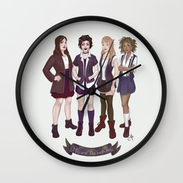 The Craft Wall Clock