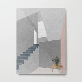 01 Casa Estudio. Barragán Metal Print