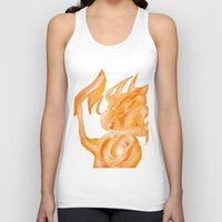 dragons Tank Tops featuring Dragons by DragonsTime