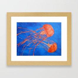 Dance of the Sea 3 Framed Art Print