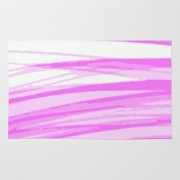 Fuchsia Blur Rug