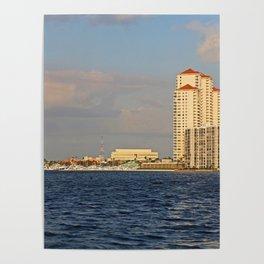 Shoreline in Fort Myers II Poster