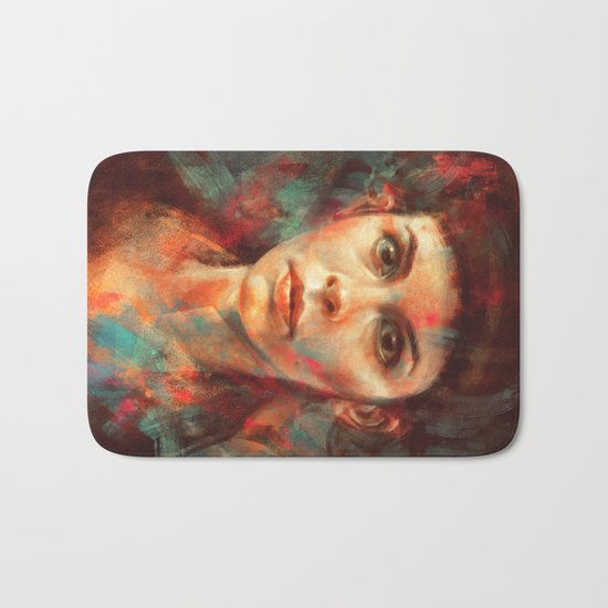 She was always a lonely child. Bath Mat