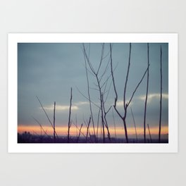 Dreamy Sunrise Art Print
