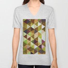 Abstract #825 Unisex V-Neck