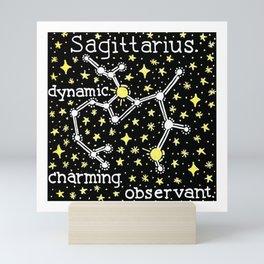 Sagittarius Constellation Mini Art Print