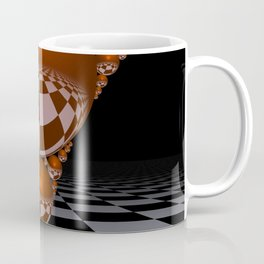 Apollonian gasket - orange Coffee Mug