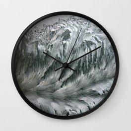 Ice Breaker Waves Wall Clock