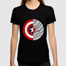 Cap-Bucky design T-shirt
