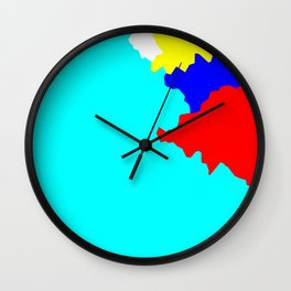 Crystallize 10 Wall Clock