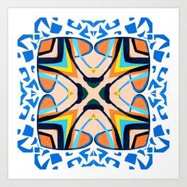 Mediterranean Tile Art Print