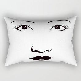 Old Hollywood - Anna May Wong Rectangular Pillow