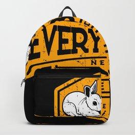 Everybunny Needs Somebunny Sometimes Backpack