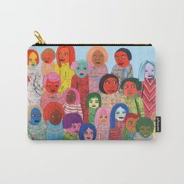 All the People Carry-All Pouch