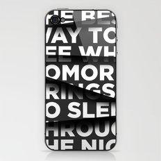Sleep Through The Night iPhone & iPod Skin