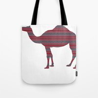 camel Tote Bags featuring Camel by Ain Clothing