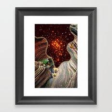 Dangerous Stars Framed Art Print
