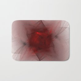 Folds in Red (Red series #12) Bath Mat