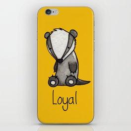The Loyal Badger iPhone Skin