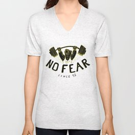 No Fear Unisex V-Neck