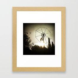 Windmill In The Morning Framed Art Print