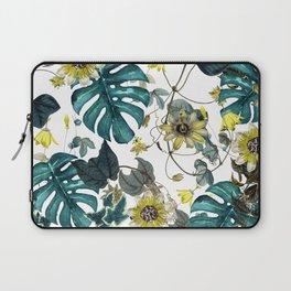 Tropical Flowers V Laptop Sleeve