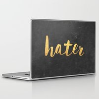 2pac Laptop & iPad Skins featuring Hater by Text Guy
