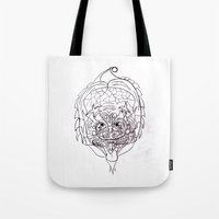 predator Tote Bags featuring Predator. by sonigque