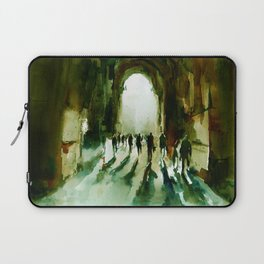 without an end or a beginning  Laptop Sleeve