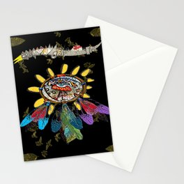 dream catchers dreaming Stationery Cards