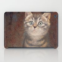 kitty iPad Cases featuring Kitty by irshi