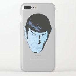 Live Long and Prosper Clear iPhone Case