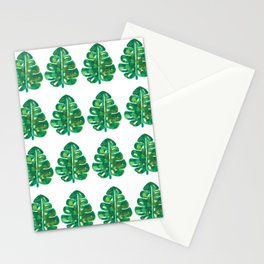 Stay Wild Monsteras Stationery Cards