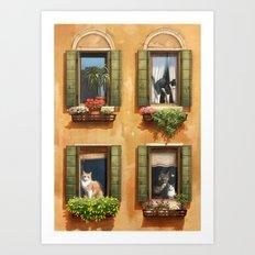The Sunny Spot Art Print