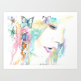 A moment of Bliss Art Print