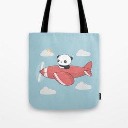 Kawaii Cute Panda Flying Tote Bag