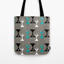 Mid-Century Hourglass Tote Bag